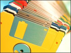 Floppy disks, Eyewire