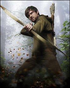 Jonas Armstrong as Robin Hood in the BBC TV series