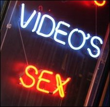 Soho sex shop