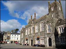 Tavistock in West Devon