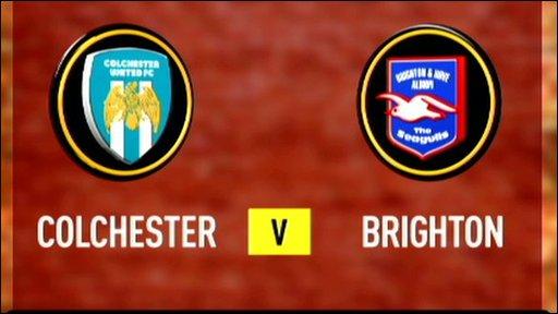 Colchester 0-0 Brighton
