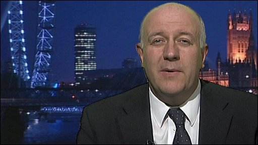 Armed Forces Minister Bill Rammell MP