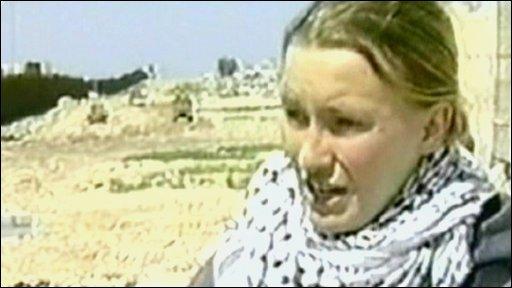 Rachel Corrie in 2003