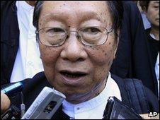 NLD spokesman Nyan Win (file image)