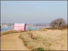 Hamble shoreline