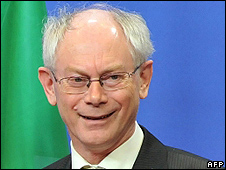 President of European Council, Herman Van Rompuy