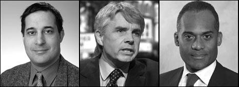 Evan Harris; Lord Drayson; Adam Afriyie