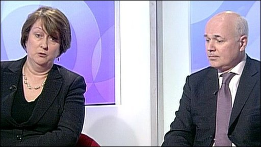 Jacqui Smith and Iain Duncan Smith