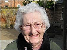 Former Land Girl Yvonne Gollop