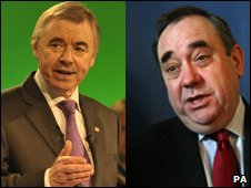 Ieuan Wyn Jones and Alex Salmond