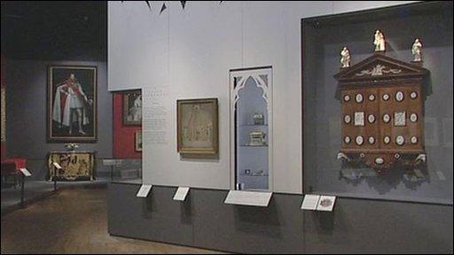 The Victoria & Albert Museum is exhibiting Twickenham's Horace Walpole's 18th century collection of works