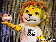 South Africa World Cup mascot Zakumi (file image)