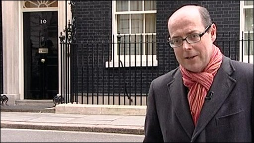 Nick Robinson at Number 10