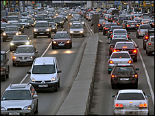 Traffic in Moscow. File photo