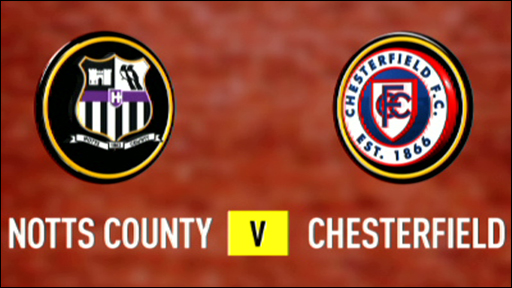 Notts County 1-0 Chesterfield