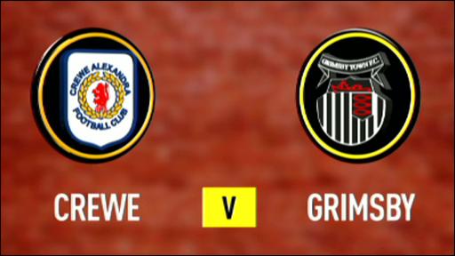 Crewe 4-2 Grimsby