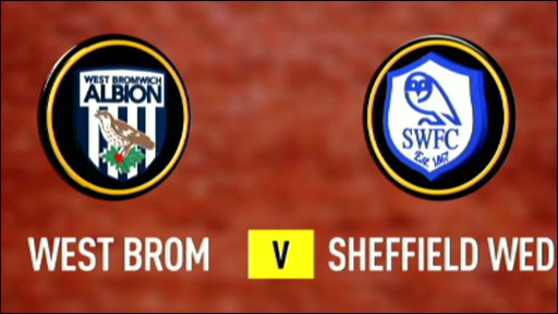West Brom 1-0 Sheff Wed