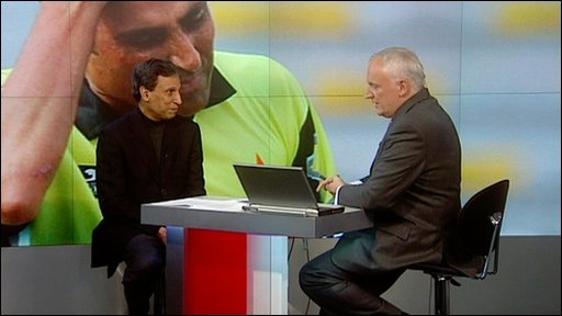 Nik Gowing speaks to former Pakistan cricket captain and selector Asif Iqbal