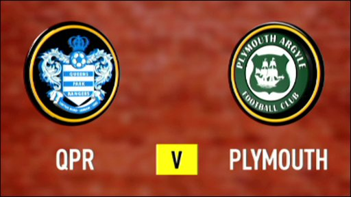 QPR 2-0 Plymouth (UK only)