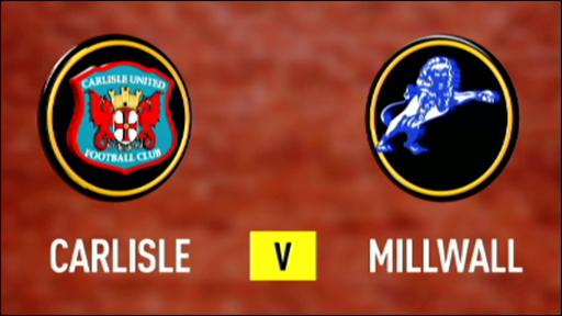 Carlisle 1-3 Millwall