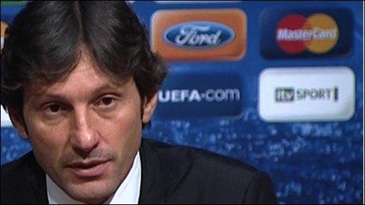 AC Milan coach Leonardo