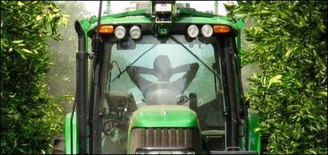 Autonomous tractor, Tony Stentz