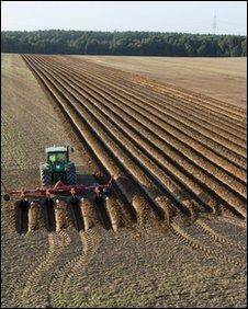 Plowing, John Deere
