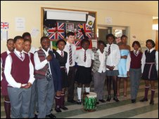 Steve Owen at Matseliso High School