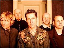 Publicity shot of Christian band Delirious?