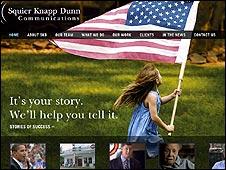 Squier, Knapp, Dunn Communications webstie
