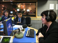 School Reporters radio interview