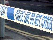 Police tape, BBC