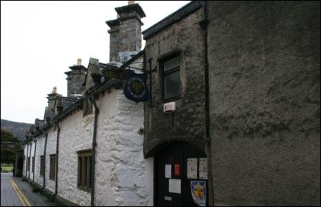 The Llanrwst Almshouses