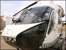 Kent Air Ambulance helicopter