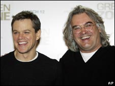 Paul Greengrass and Matt Damon