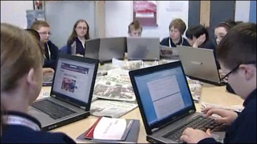 Schools will take part in the annual UK-wide BBC News School Report day