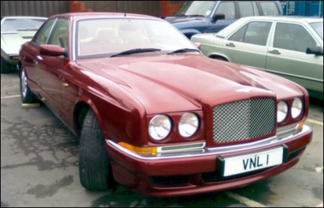 Bentley Continental R Mulliner Coupe