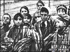 Children inside Auchswitz