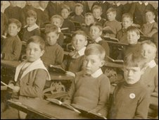 Victorian classroom