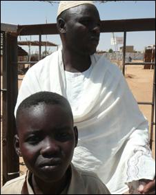 People in Darfur camps