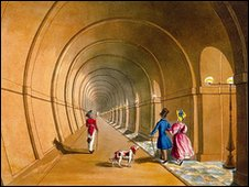 The Thames Tunnel (photo courtesy the Brunel Museum)