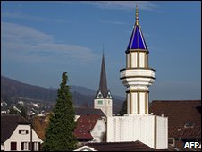 Minaret in Switzerland