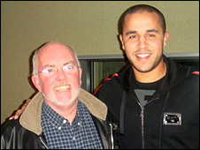 Chick Young and Madjid Bougherra