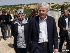 John Holmes in Gaza - 2 March 2010