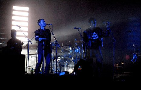 Massive Attack at Glastonbury 2008