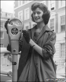 The first parking meters were installed in 1958