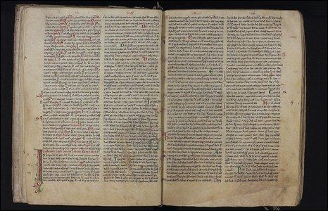 Waltham Abbey Bible