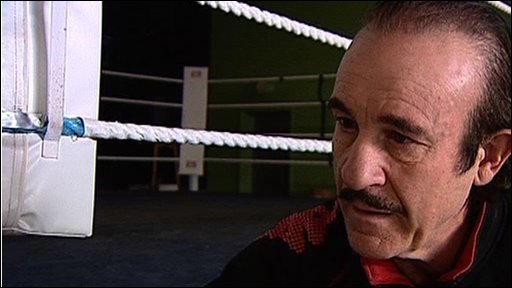 Boxing trainer Enzo Calzaghe