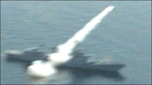Pakistan tests missile