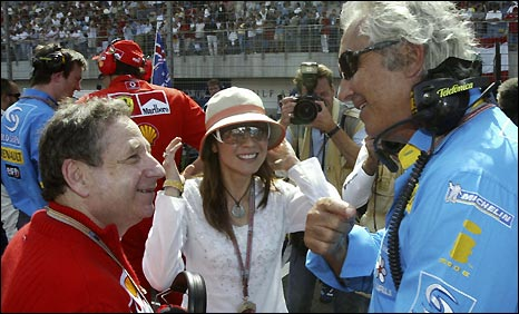 Jean Todt and Flavio Briatore go back a long way in F1